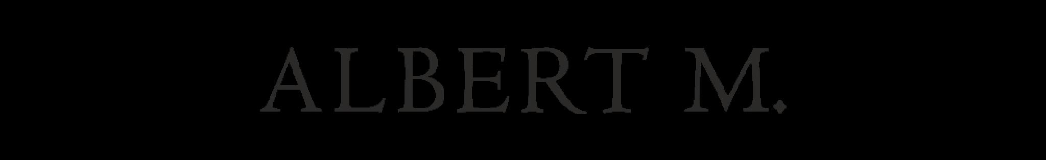 logotipo albert m